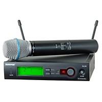 Shure Slx24/Beta87c Wireless Microphone System Band H19