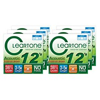 Cleartone Light Acoustic Guitar Strings 6  ...