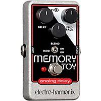 Electro-Harmonix Memory Toy Analog Echo & Chorus Guitar Effects Pedal