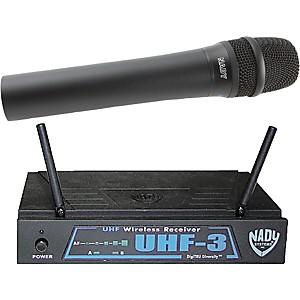 Nady Uhf-3 Handheld Wireless System Mu3/484.55