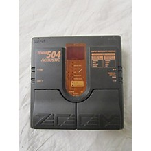 Zoom 504 Acoustic Effect Pedal