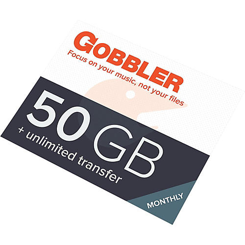 Gobbler 50GB/Month Plan Software Download