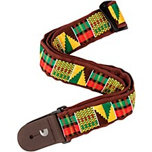 D'Addario Planet Waves 50MM Nylon Guitar Strap, African Weave