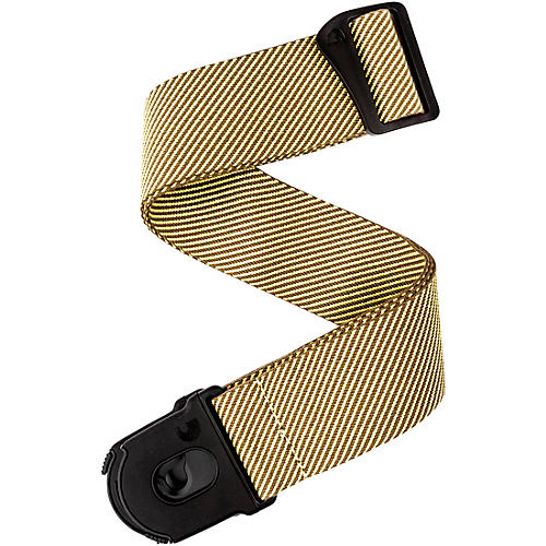 D'Addario Planet Waves 50MM Nylon Guitar Strap, Planet Lock, Tweed
