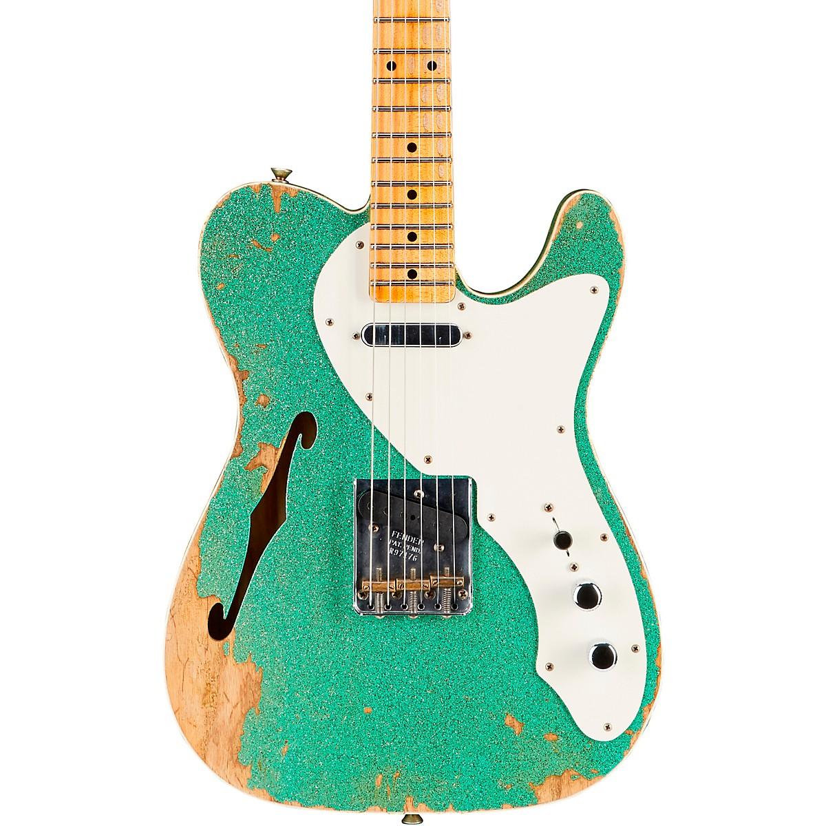 Fender Custom Shop 50s Custom Thinline Telecaster Electric Guitar