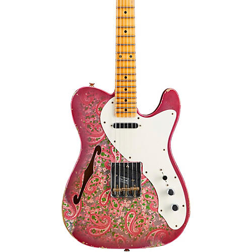 Fender Custom Shop '50s Thinline Telecaster Relic NAMM Limited-Edition Electric Guitar