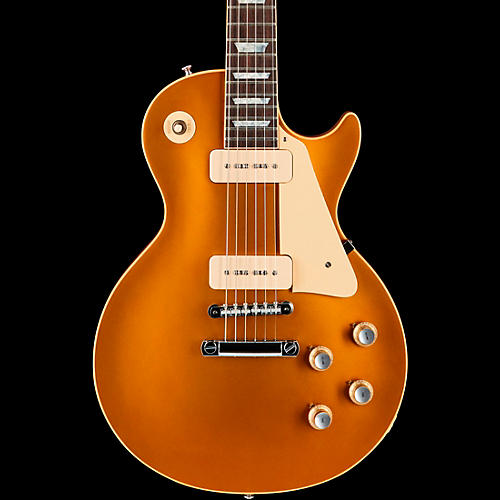 Gibson Custom 50th Anniversary 1968 Les Paul Gold Top VOS Historic Electric Guitar