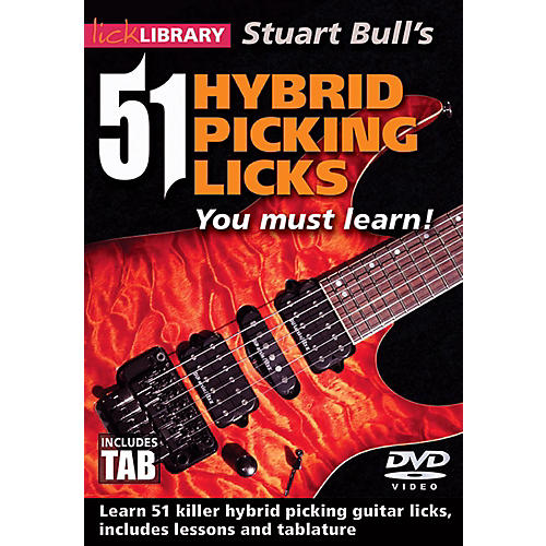 hal leonard hybrid picking licks you must learn lick