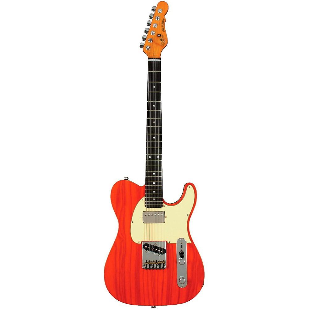 G&L ASAT Classic BluesBoy Electric Guitar Clear Orange 1273888005138