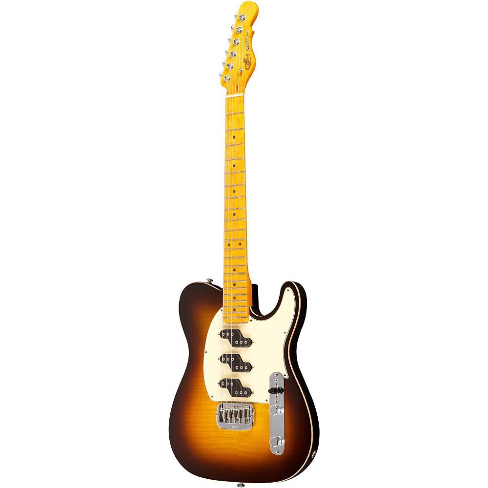 G&L ASAT Z3 Figured Maple Top Guitar Tobacco Sunburst 1273888005108