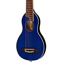 Washburn Rover Travel Guitar Transparent Blue
