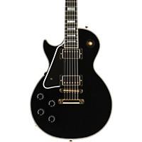 Gibson Custom 2015 Les Paul Custom Left-Handed Electric Guitar Ebony