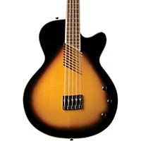 Washburn Ab45 5-String Acoustic-Electric Bass Vintage Sunburst