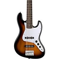 Squier Affinity 5-String Jazz Bass V Brown Sunburst