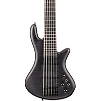 Schecter Guitar Research Stiletto Studio 6 Bass Satin See-Thru Black