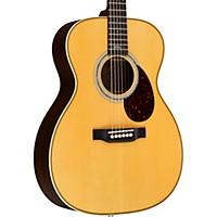 Martin Special Edition Omjm John Mayer Orchestra Model Acoustic-Electric Guitar Natural