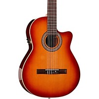 La Patrie Hybrid Cw Nylon-String Acoustic-Electric Guitar Light Burst