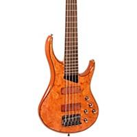 Mtd Kingston Kz 5-String Bass Gloss Natural Rosewood