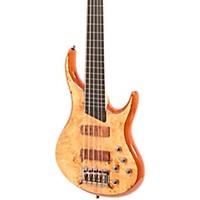 Mtd Kingston Kz 5-String Fretless Bass Gloss Natural Ebonol