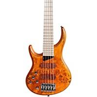 Mtd Kingston Kz 5-String Left Handed Bass Burled Maple Maple