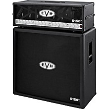 EVH 5150 III 100W Guitar Tube Head Black with 5150 III 412 Guitar Cab Black