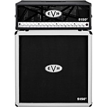 EVH 5150 III 100W Guitar Tube Head Black with 5150 III 412 Guitar Cab Ivory
