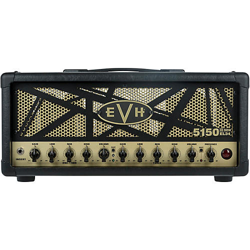 EVH 5150III 50W EL34 50W Tube Guitar Amp Head