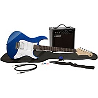 Yamaha Gigmaker Eg Electric Guitar Pack Metallic Dark Blue