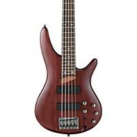 Ibanez Sr505 5-String Electric Bass Guitar Brown Mahogany Rosewood Fretboard