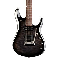 Music Man John Petrucci Bfr 7 Electric Guitar Black Burst Flame Maple
