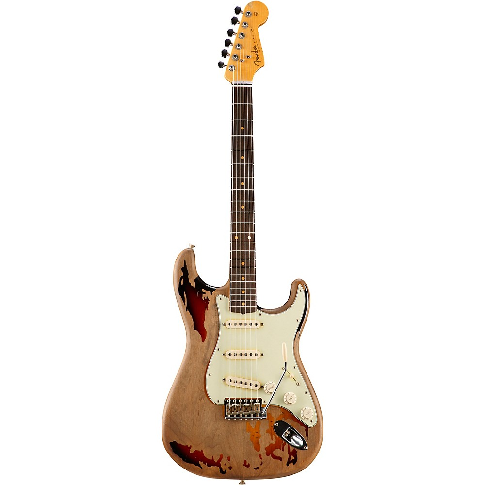 Fender Custom Shop Rory Gallagher Signature Stratocaster Electric Guitar 3-Color Sunburst 1273888001290