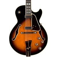 Ibanez Gb10 George Benson Hollowbody Electric Brown Sunburst