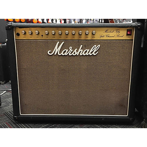 used marshall 5212 fifty split reverb guitar combo amp guitar center. Black Bedroom Furniture Sets. Home Design Ideas