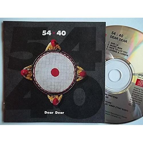Alliance 54-40 - Dear Dear (Red)