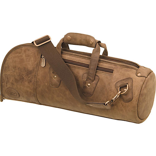 Reunion Blues 540 Distressed Leather Series Single Trumpet Gig Bag