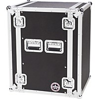 Road Runner Deluxe 16U Amplifier Rack Case Black