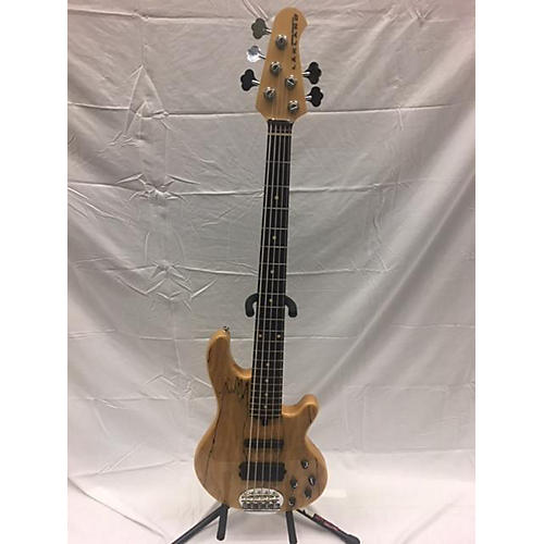 used lakland 55 02 skyline deluxe series 5 string electric bass guitar spalted maple guitar center. Black Bedroom Furniture Sets. Home Design Ideas