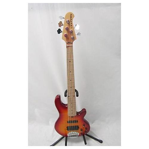 used lakland 55 02 skyline series 5 string electric bass guitar cherry sunburst guitar center. Black Bedroom Furniture Sets. Home Design Ideas