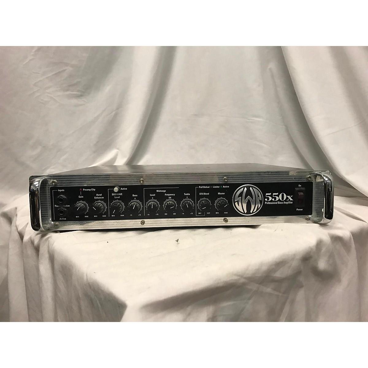SWR 550X PROFESSIONAL BASS AMPLIFIER Bass Amp Head