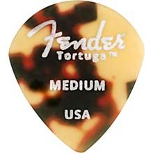 Fender 551 Shape Tortuga Ultem Guitar Picks (6-Pack), Tortoise Shell