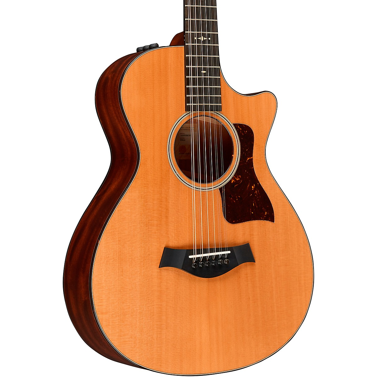 Taylor 552ce V-Class 12-Fret Grand Concert 12-String Acoustic Electric Guitar