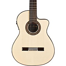 55FCE Flamenco Macassar Ebony Acoustic-Electric Nylon String Flamenco Guitar Level 2 Natural 190839782373
