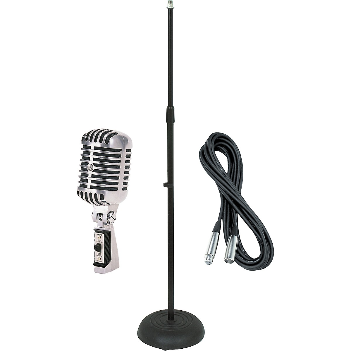 Shure 55SH Dynamic Mic with Cable and Stand