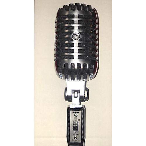 used shure 55sh series ii dynamic microphone guitar center. Black Bedroom Furniture Sets. Home Design Ideas