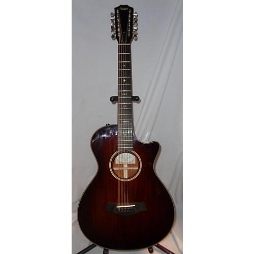 used taylor 562ce 12 string acoustic electric guitar brown sunburst guitar center. Black Bedroom Furniture Sets. Home Design Ideas