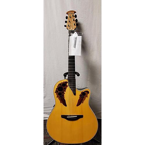 used ovation 5778 elite acoustic electric guitar natural guitar center. Black Bedroom Furniture Sets. Home Design Ideas