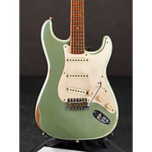 58 Special Stratocaster Relic Electric Guitar Faded Aged Sage Green Metallic