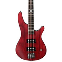 Ibanez Paul Romanko Prb2 Signature Bass Guitar Flat Burgundy Wine