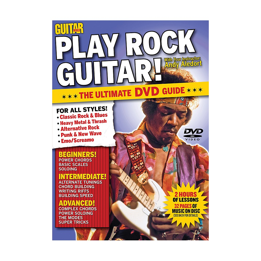 Alfred Guitar World Play Rock Guitar Dvd 1273887984063