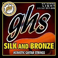 Ghs Silk And Bronze Acoustic Guitar Strings  ...